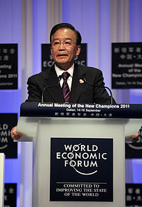 Wen Jiabao - Annual Meeting of the New Champions 2011.jpg