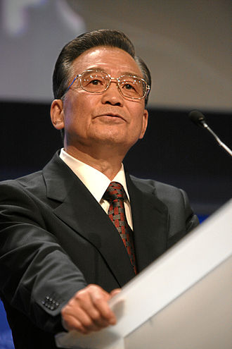 Wen Jiabao - Wen at the World Economic Forum in Davos, Switzerland in 2009