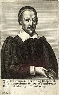 William Fenner English Puritan divine