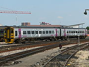 A Wessex Trains Class 158, now operated by First Great Western as part of the local fleet. Units will be repainted over the next two years