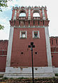 Western tower of the nothern wall of Donskoy Monastery 03.jpg
