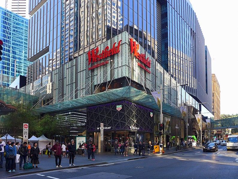 Rede de shoppings de Sydney