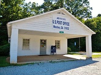 Weston, Georgia - Image: Weston, GA Post Office (31832)