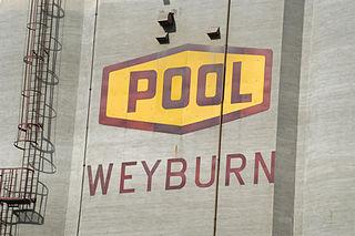 Weyburn City in Saskatchewan, Canada
