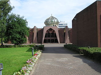 Islam in Scotland - Glasgow Central Mosque is  the largest Sunni mosque in Glasgow