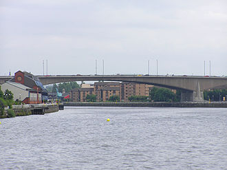 M8 motorway (Scotland) - Kingston Bridge