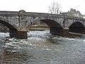 White water under Totnes bridge - geograph.org.uk - 1149930.jpg