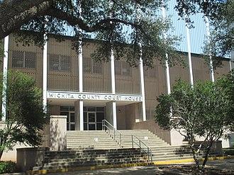Wichita County, Texas - Image: Wichita County, TX, Courthouse IMG 6884