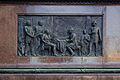 Wien - Radetzky-Denkmal, linkes Relief.JPG