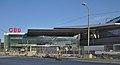 Wien Hauptbahnhof, norda enirejo, 2014-08.jpg