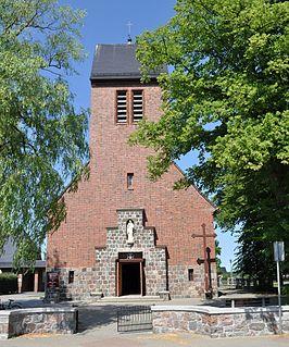 Wierzchucino Village in Pomeranian Voivodeship, Poland