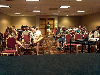 Dragon Con - Image: Wikidragonpanel 2011