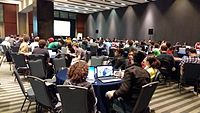 Wikimaina Hackathon 1st Day.jpg