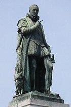 Willem van Oranje Standbeeld Den Haag, juni 2003