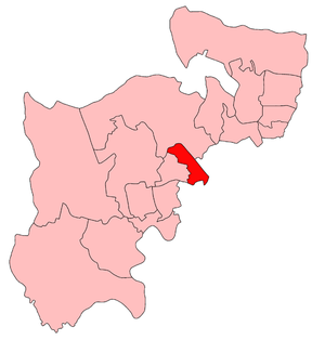 Willesden East by-election, 1923 - Willesden East in 1923