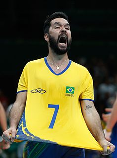 William Arjona Brazilian volleyball player and beach volleyball player