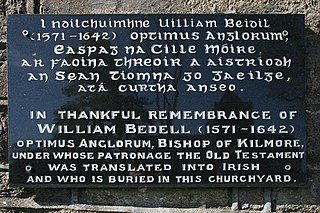 William Bedell Irish bishop and bible translator
