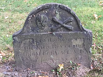 Selina Hastings, Countess of Huntingdon - Gravestone of Reverend William Furmage, Old Burying Ground (Halifax, Nova Scotia), Huntingdonian Missionary to the Black Loyalists; established Black school in Halifax