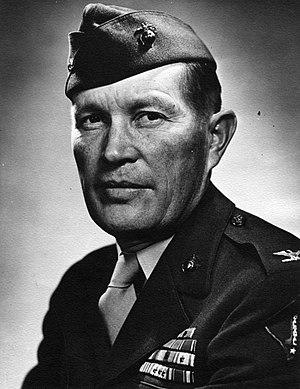 William H. Harrison (USMC) - Harrison as Colonel, USMC