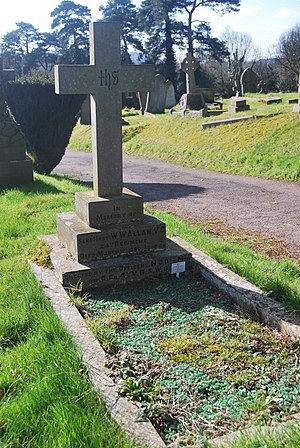 William Allen (VC 1879) - Grave of William Wilson Allen VC