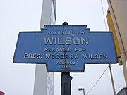 Wilson, PA Keystone Marker