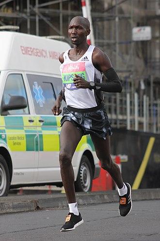 Wilson Kipsang Kiprotich - Wilson Kipsang Kiprotich, at London Half Marathon, 10 March 2019