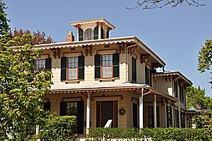 Parker House (Winchester, Massachusetts) - Image: Winchester MA Parker House
