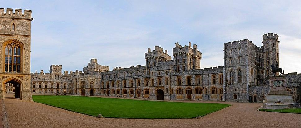 Windsor Castle Upper Ward Quadrangle Corrected 2- Nov 2006