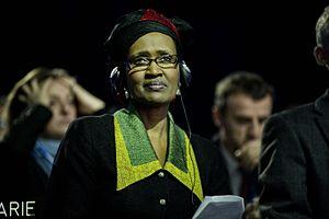 Winnie Byanyima - Image: Winnie Byanyima, directrice exécutive d'Oxfam international