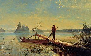 Winslow Homer - An Adirondack Lake.jpg