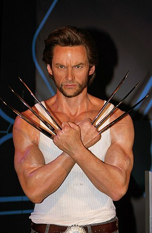 X-Men in other media - Wax figure of X-Men's Wolverine at Madame Tussauds
