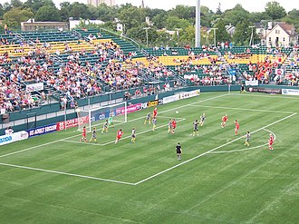 Western New York Flash - The Flash face off at home against Philadelphia for the 2011 WPS Championship