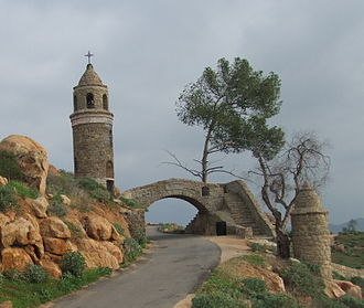 Mount Rubidoux - The World Peace Bridge on Mount Rubidoux.