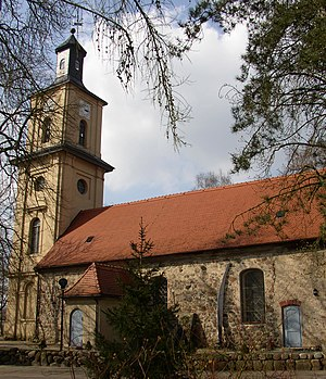 Fehrbellin - Church in Wustrau
