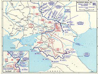 Azerbaijan in World War II - German attack: June–November, 1942