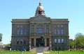 Wyoming State Capitol west facade.JPG