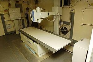 XRay machine for the captives, Guantanamo -b