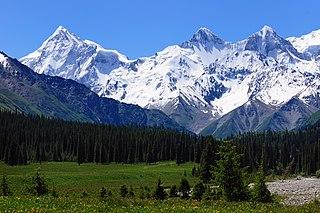 Muzart Pass mountain pass in Xinjiang
