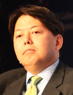 Yoshimasa Hayashi - Yoshimasa Hayashi at the St. Gallen Symposium in May 2011