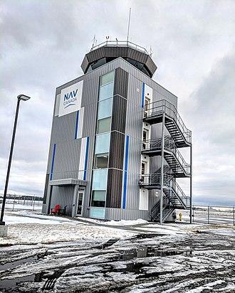 Oshawa Executive Airport - New Nav Canada control tower in Oshawa