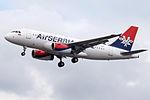 YU-APF A319 Air Serbia (14787467915).jpg