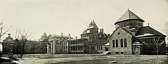 Yale–New Haven Hospital - New Haven Hospital, about 1911