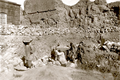 Yerevan Fotress after earthquake 1860.png