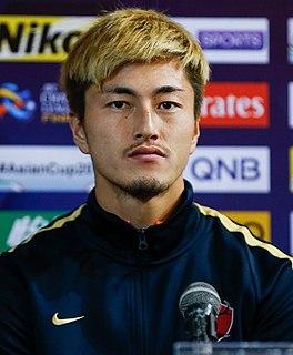 Yuma Suzuki Japanese footballer