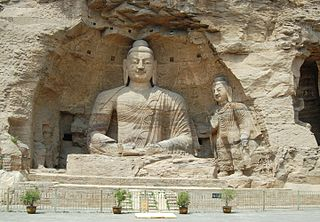 Yungang Grottoes Ancient Chinese Buddhist temple grottoes in Shanxi