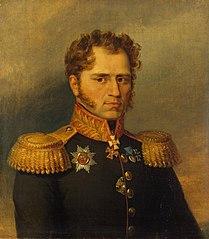 Portrait of Alexander I. Yushkov (1781 - after 1839)