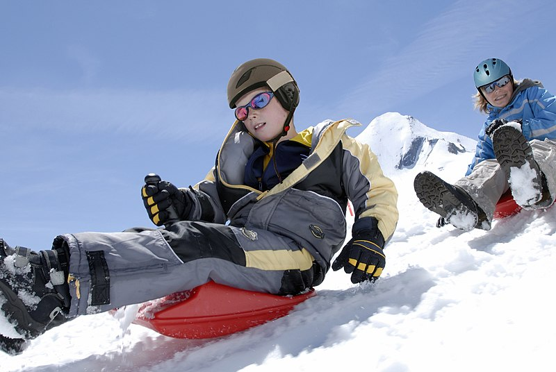 Kids in the Snow - Get base layers to keep warm