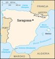 Zaragoza Saragossa location pl polish version.png