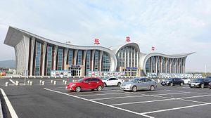 Zhangjiakou Ningyuan Airport - Image: Zhangjiakou Ningyuan Airport Aug 31,2015