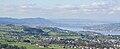 Zimmerberg - Albis-Felsenegg-Uetliberg - Samstagern - Horgen - Halbinsel Au - Zürichsee - Zürich - Lägern - Feusisberg - Etzel 2010-10-21 15-04-38.jpg